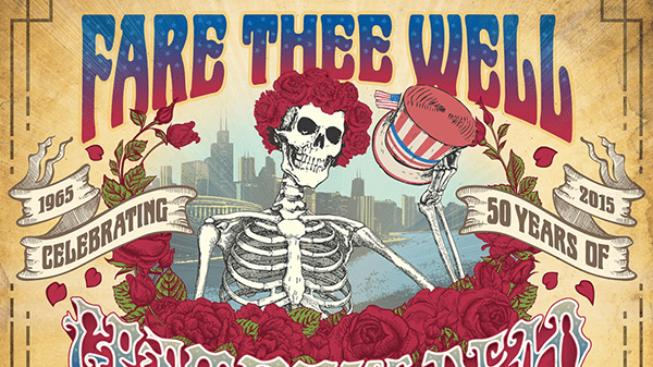 The Grateful Dead streamed their farewell shows online