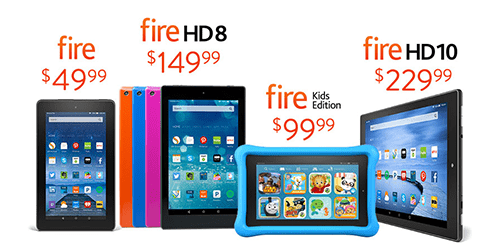 Friday Round-Up: Amazon Has a New Fire TV and New Tablets