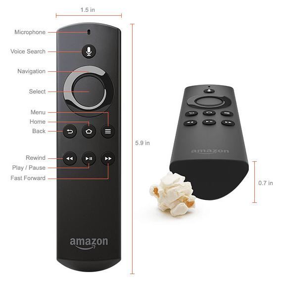 Fire TV's remote