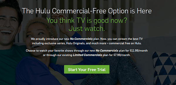 Hulu now offers a commercial-free option