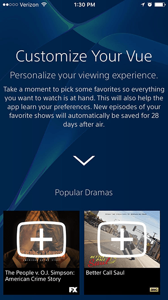 The favorites feature is surfaced better on the mobile apps than on the Fire TV app.