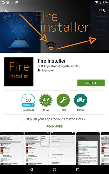 Fire Installer