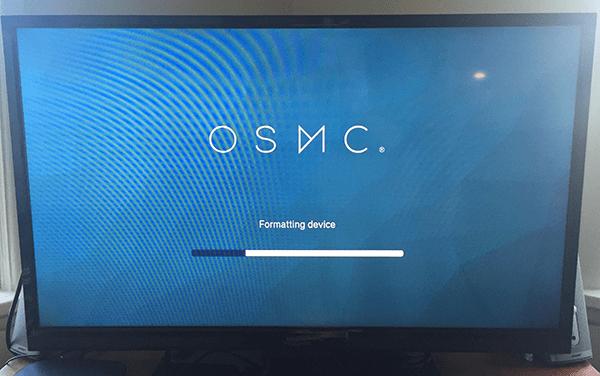 OSMC setup
