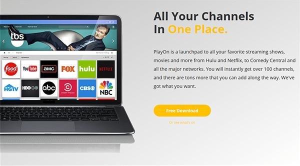 PlayOn ad