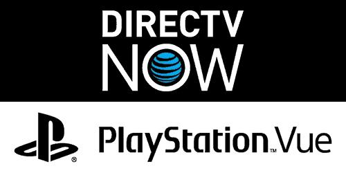 DIRECTV NOW vs. PlayStation Vue
