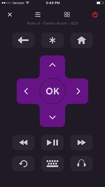 The Roku app is the best Roku remote replacement