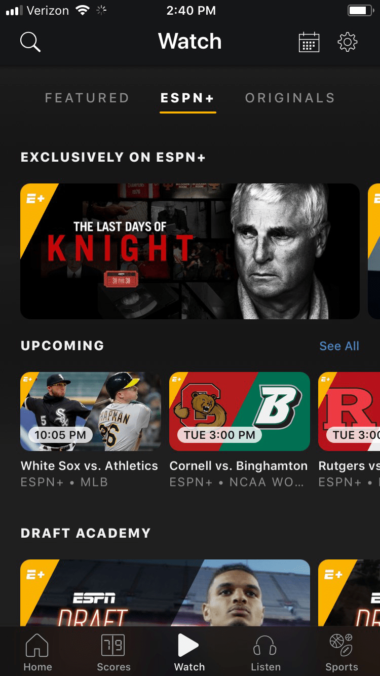 ESPN+ Review | 2019 ESPN Plus Reviews & Ratings