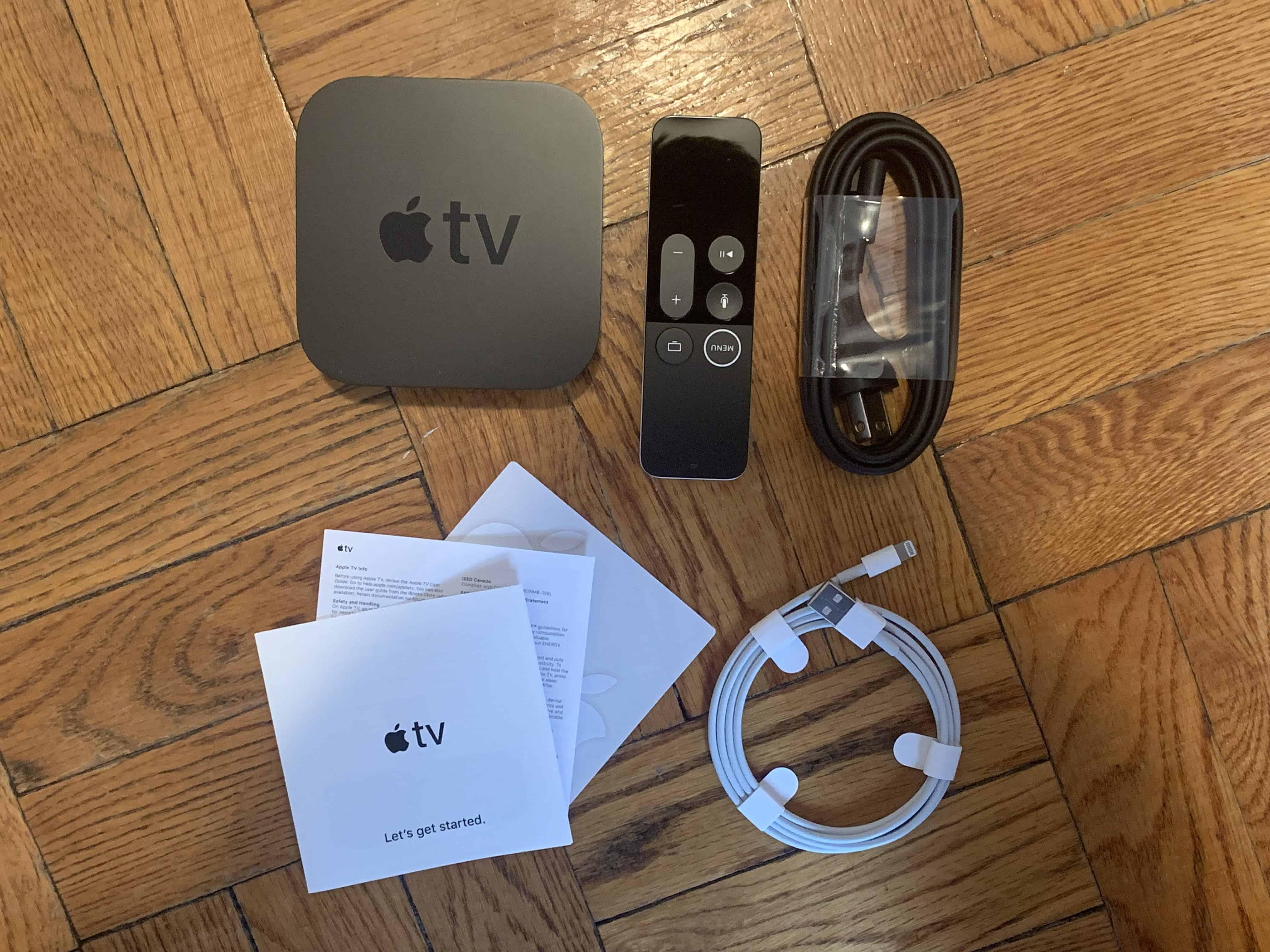 Apple TV 4K review - Apple TV unboxing