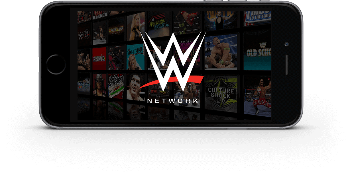 WWE Network on the iPhone