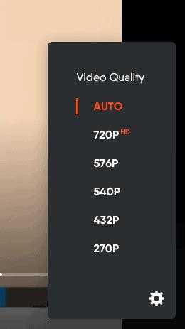 fuboTV - Browser Video Quality