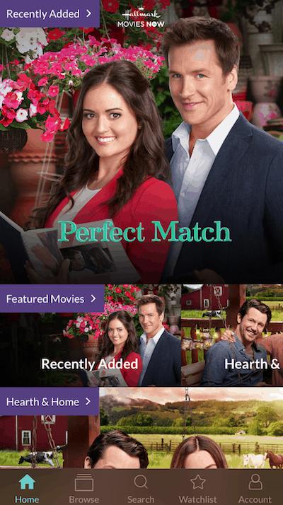 Hallmark Movie Now App