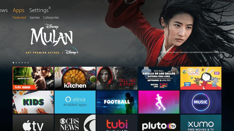 Fire TV App Store