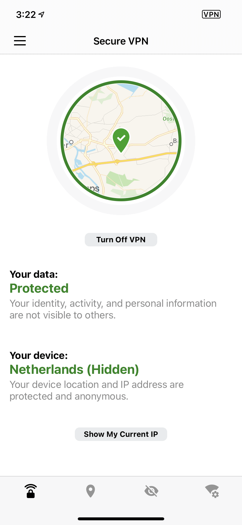 Norton VPN iPhone App