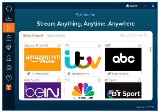 Ivacy Streaming Features